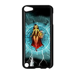 Beautiful Witch With Magical Background Apple iPod Touch 5 Case (Black)