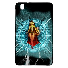 Beautiful Witch With Magical Background Samsung Galaxy Tab Pro 8.4 Hardshell Case
