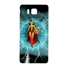 Beautiful Witch With Magical Background Samsung Galaxy Alpha Hardshell Back Case
