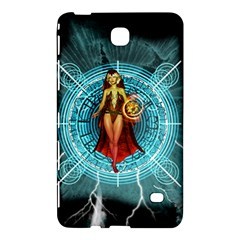 Beautiful Witch With Magical Background Samsung Galaxy Tab 4 (8 ) Hardshell Case
