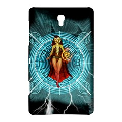 Beautiful Witch With Magical Background Samsung Galaxy Tab S (8.4 ) Hardshell Case