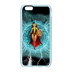 Beautiful Witch With Magical Background Apple Seamless iPhone 6/6S Case (Color)