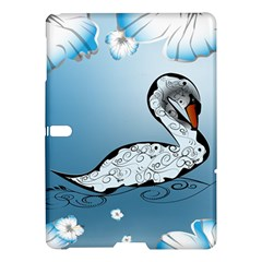 Wonderful Swan Made Of Floral Elements Samsung Galaxy Tab S (10 5 ) Hardshell Case
