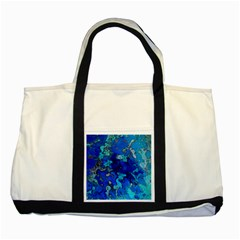 Cocos blue lagoon Two Tone Tote Bag