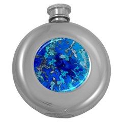 Cocos blue lagoon Round Hip Flask (5 oz)