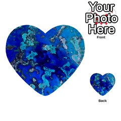 Cocos blue lagoon Multi-purpose Cards (Heart)