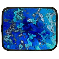 Cocos blue lagoon Netbook Case (Large)
