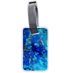 Cocos blue lagoon Luggage Tags (Two Sides)