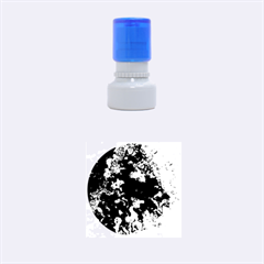 Cocos blue lagoon Rubber Round Stamps (Small)