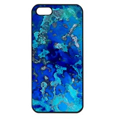 Cocos blue lagoon Apple iPhone 5 Seamless Case (Black)