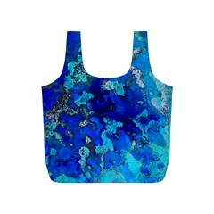 Cocos blue lagoon Full Print Recycle Bags (S)