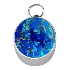 Cocos blue lagoon Mini Silver Compasses