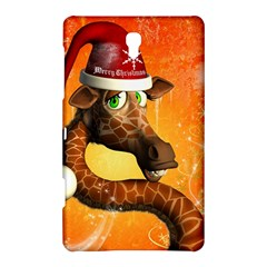 Funny Cute Christmas Giraffe With Christmas Hat Samsung Galaxy Tab S (8 4 ) Hardshell Case