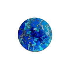 Cocos blue lagoon Golf Ball Marker (4 pack)