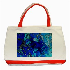 Cocos blue lagoon Classic Tote Bag (Red)