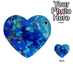 Cocos Blue Lagoon Playing Cards 54 (heart)