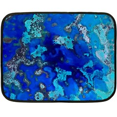 Cocos blue lagoon Fleece Blanket (Mini)