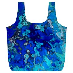 Cocos blue lagoon Full Print Recycle Bags (L)