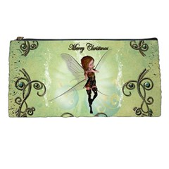 Cute Elf Playing For Christmas Pencil Cases