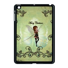 Cute Elf Playing For Christmas Apple iPad Mini Case (Black)