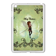 Cute Elf Playing For Christmas Apple iPad Mini Case (White)