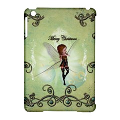 Cute Elf Playing For Christmas Apple iPad Mini Hardshell Case (Compatible with Smart Cover)