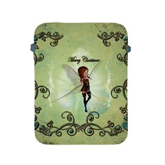 Cute Elf Playing For Christmas Apple iPad 2/3/4 Protective Soft Cases