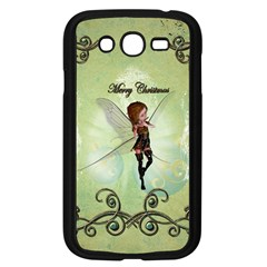 Cute Elf Playing For Christmas Samsung Galaxy Grand DUOS I9082 Case (Black)