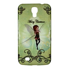 Cute Elf Playing For Christmas Samsung Galaxy Mega 6.3  I9200 Hardshell Case