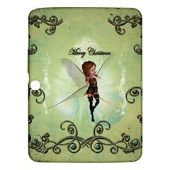 Cute Elf Playing For Christmas Samsung Galaxy Tab 3 (10.1 ) P5200 Hardshell Case
