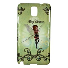Cute Elf Playing For Christmas Samsung Galaxy Note 3 N9005 Hardshell Case
