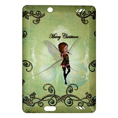 Cute Elf Playing For Christmas Kindle Fire HD (2013) Hardshell Case