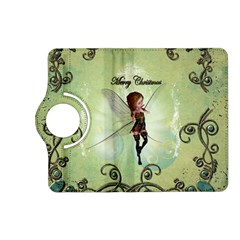 Cute Elf Playing For Christmas Kindle Fire HD (2013) Flip 360 Case