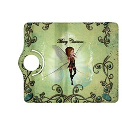 Cute Elf Playing For Christmas Kindle Fire HDX 8.9  Flip 360 Case