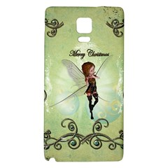 Cute Elf Playing For Christmas Galaxy Note 4 Back Case