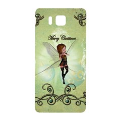 Cute Elf Playing For Christmas Samsung Galaxy Alpha Hardshell Back Case