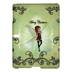 Cute Elf Playing For Christmas Samsung Galaxy Tab S (10.5 ) Hardshell Case