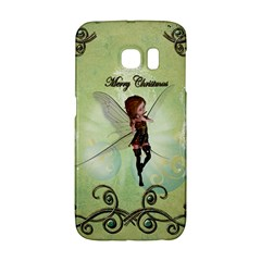 Cute Elf Playing For Christmas Galaxy S6 Edge