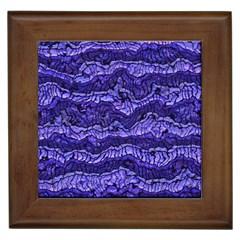 Alien Skin Blue Framed Tiles