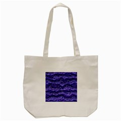 Alien Skin Blue Tote Bag (cream)