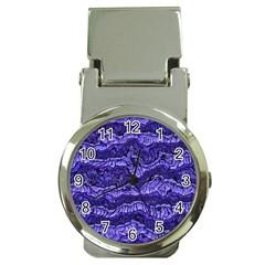 Alien Skin Blue Money Clip Watches