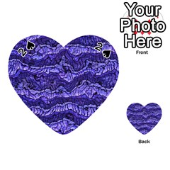 Alien Skin Blue Playing Cards 54 (heart)