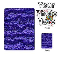 Alien Skin Blue Multi-purpose Cards (Rectangle)