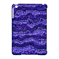 Alien Skin Blue Apple Ipad Mini Hardshell Case (compatible With Smart Cover)