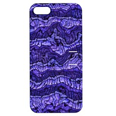 Alien Skin Blue Apple iPhone 5 Hardshell Case with Stand