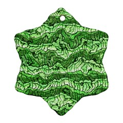 Alien Skin Green Ornament (snowflake)