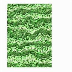 Alien Skin Green Large Garden Flag (two Sides)