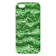 Alien Skin Green Apple iPhone 5 Premium Hardshell Case