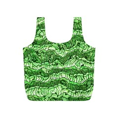 Alien Skin Green Full Print Recycle Bags (S)