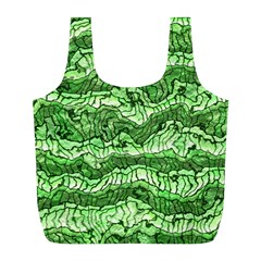 Alien Skin Green Full Print Recycle Bags (L)
